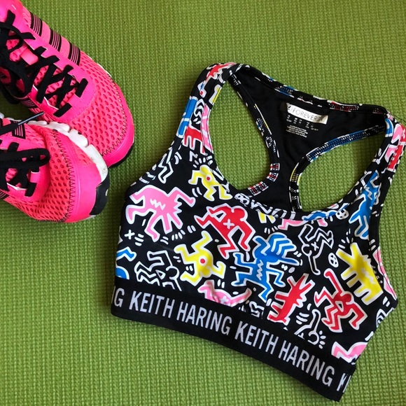 e05a4de461 Forever 21 Other - Keith Haring X Forever 21 Active Sports Bra